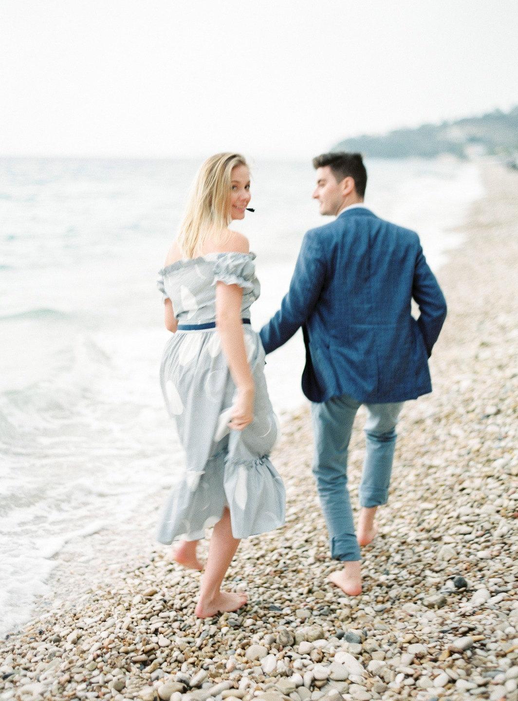 Нежный день для двоих: love-story на острове Корфу
