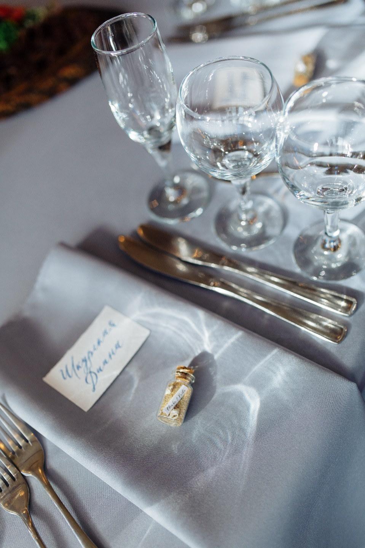 Море & Путешествия: свадьба в нежной голубой палитре
