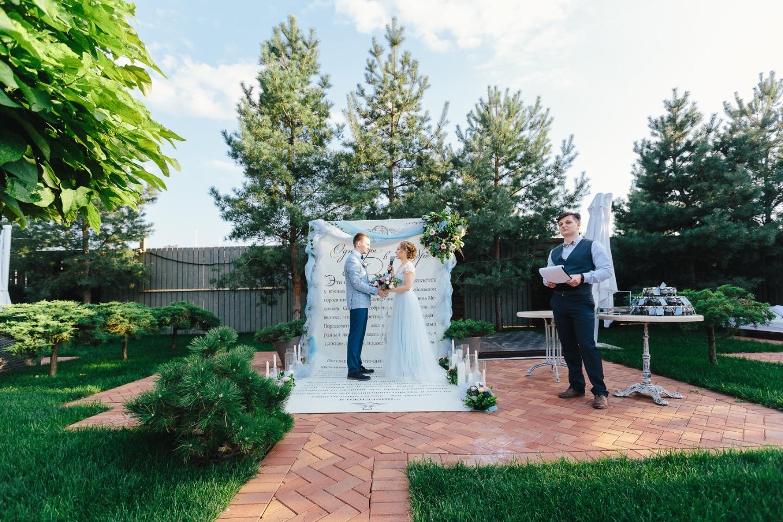 Волшебство любви: свадьба с элементами сказки