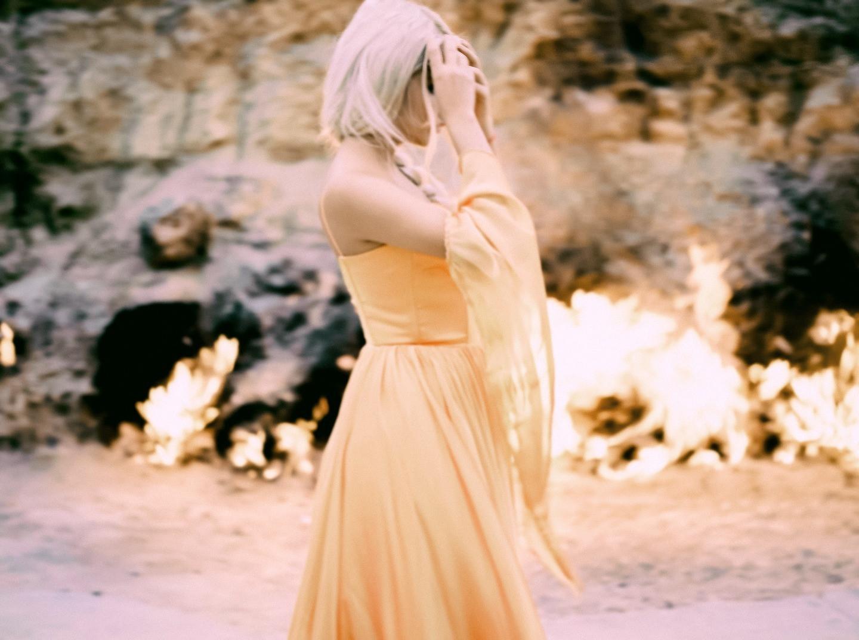 Танец огня: стилизованная фотосессия в Азербайджане