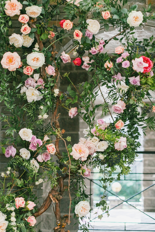 Как в сказке: свадьба в розовом цвете