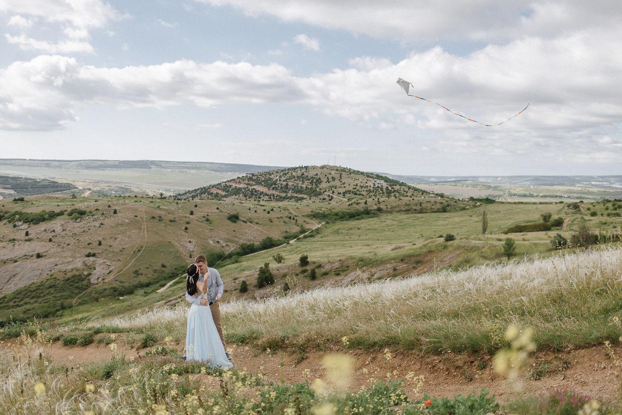Влюбленный ветер: love-story в стиле «европейский эко»