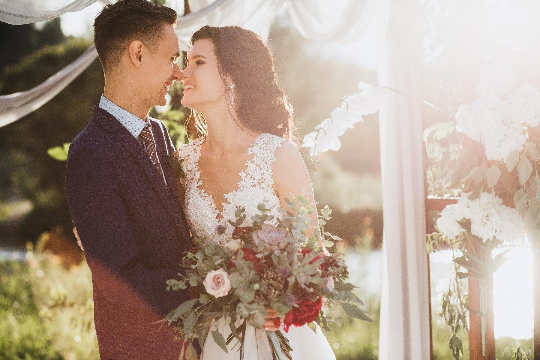Танец воздуха: свадьба в дождливый день