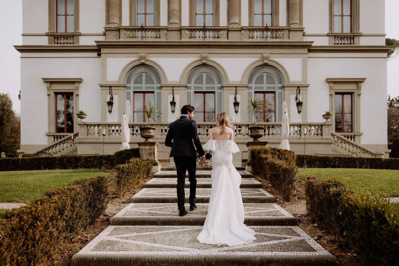 В стиле Ladurée: стилизованная свадьба на итальянской вилле