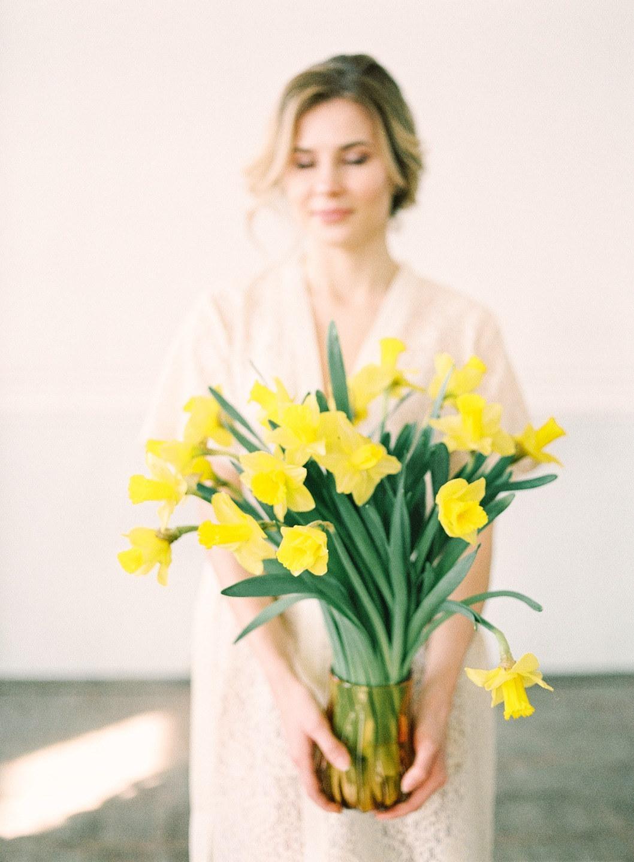 Narcissus: стилизованная весенняя фотосессия