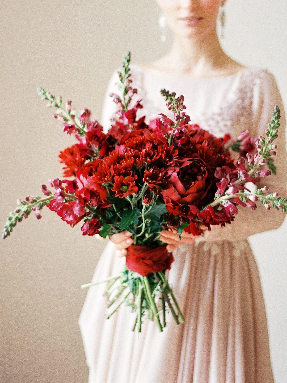 6 трендов в букете невесты