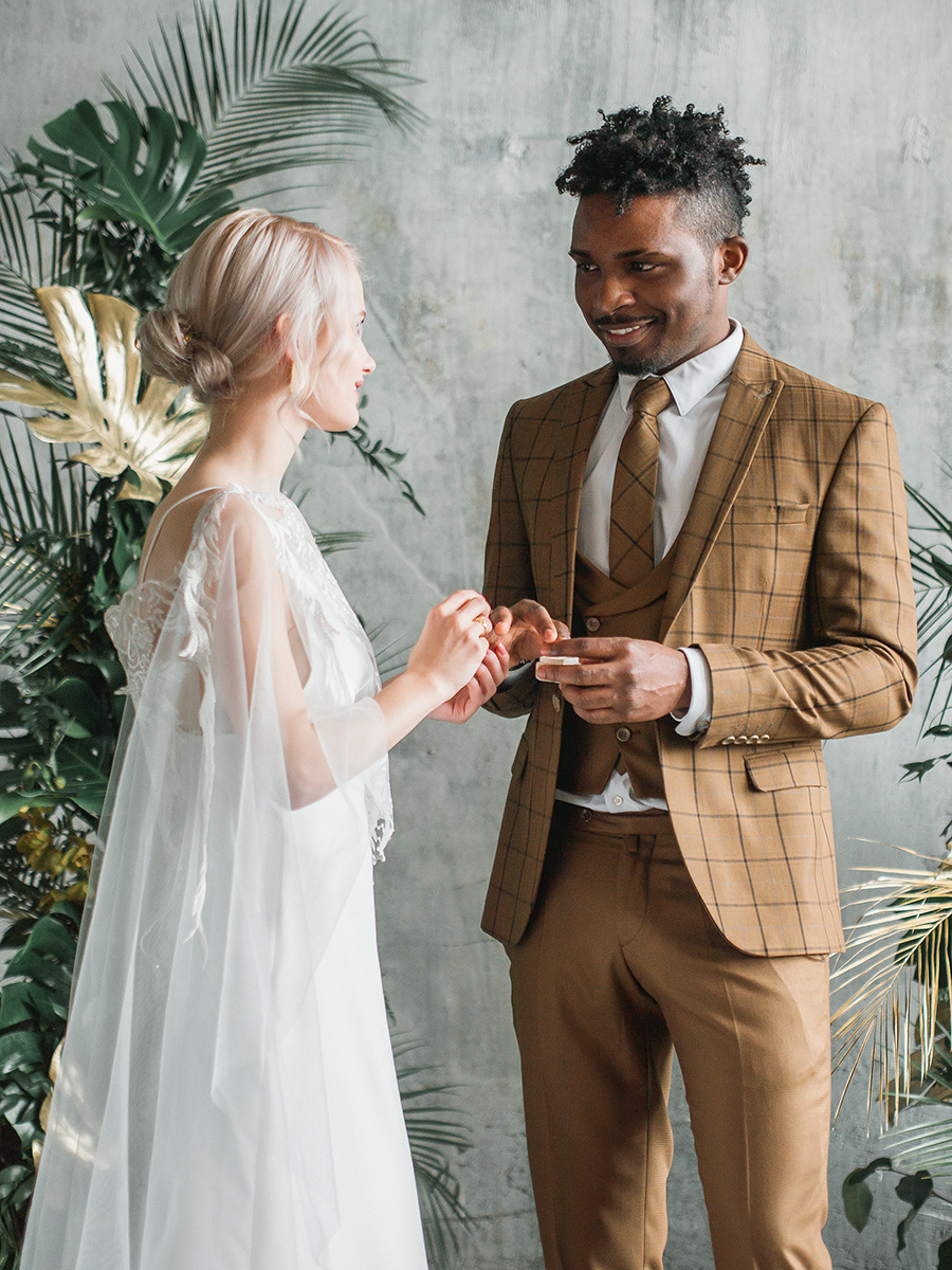 Jungle wedding: стилизованная фотосессия