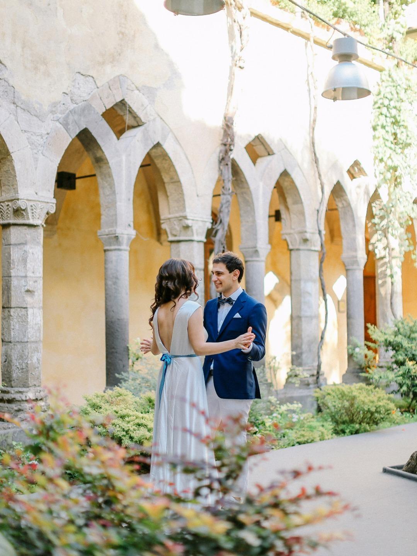 Жаркий Позитано: свадьба для двоих
