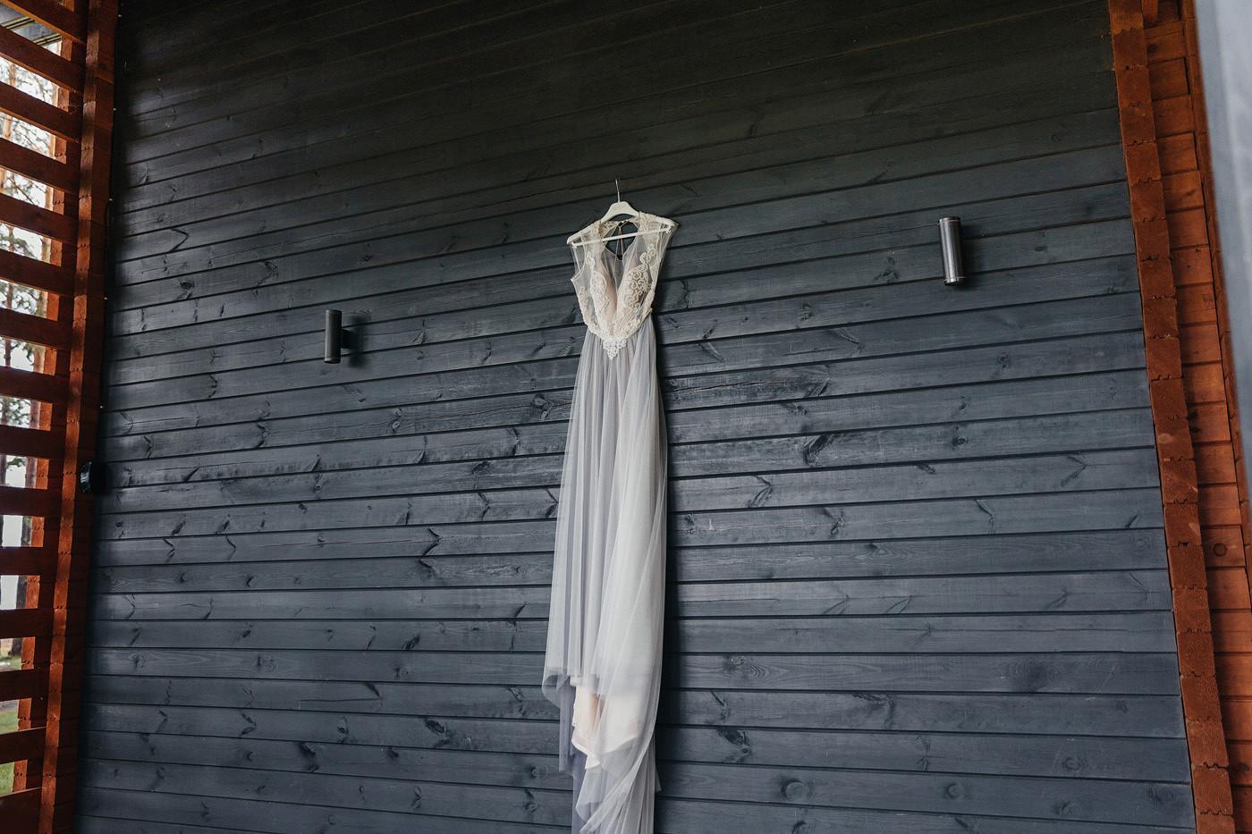Элегантный рустик: свадьба в сосновом лесу