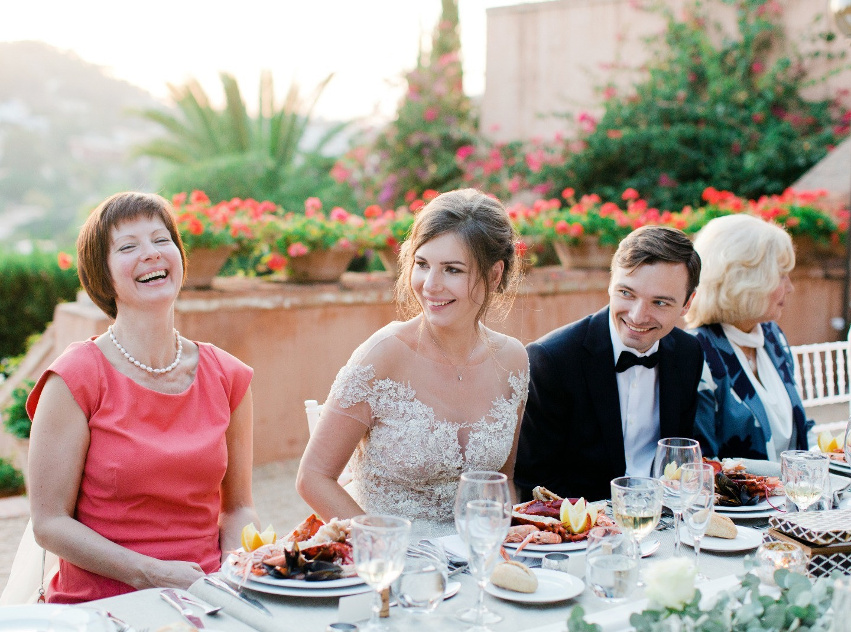 Свадьба на вилле в Испании в формате званого ужина
