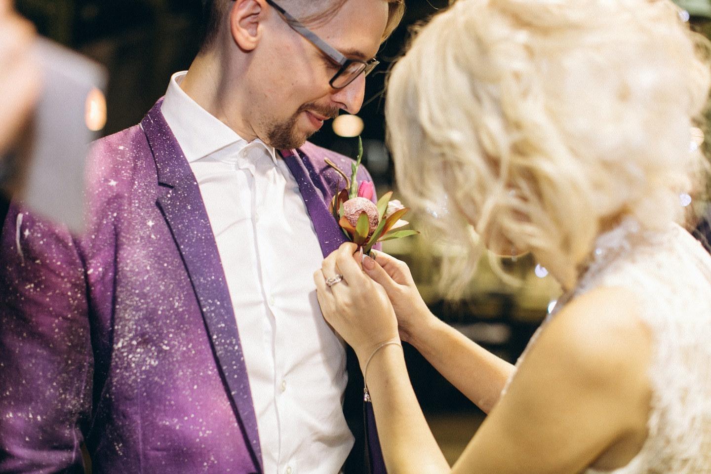 Cosmic Day: свадьба в космической тематике