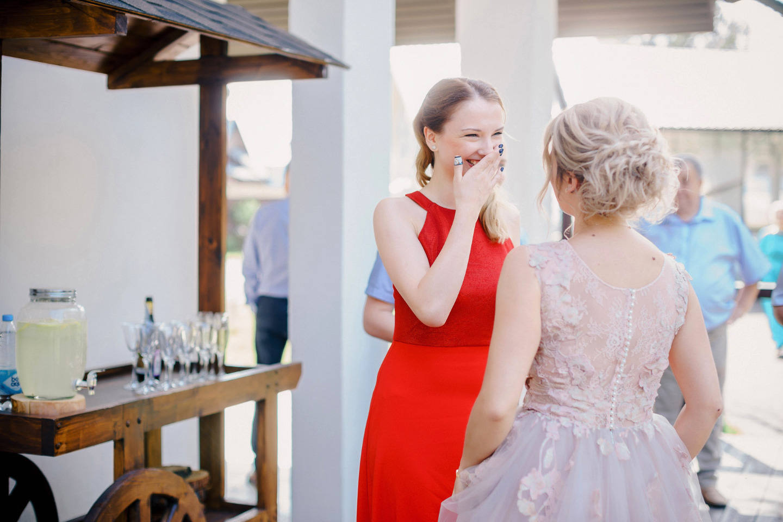 Нежность и романтика: свадьба в розово-голубой палитре