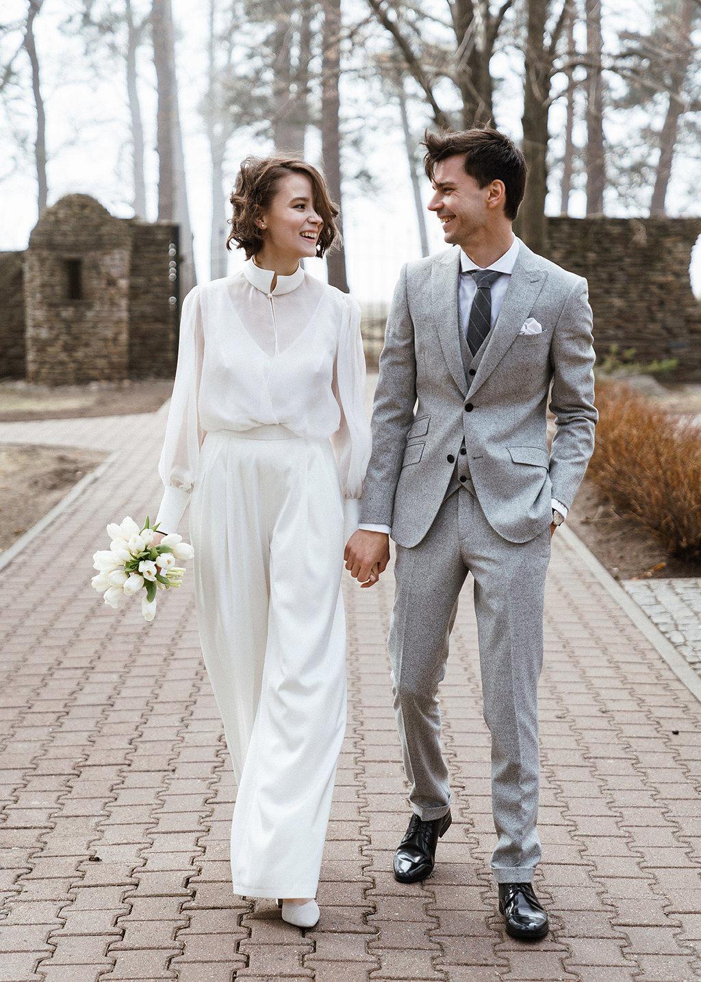 Утонченная красота: свадьба в стиле «минимализм»