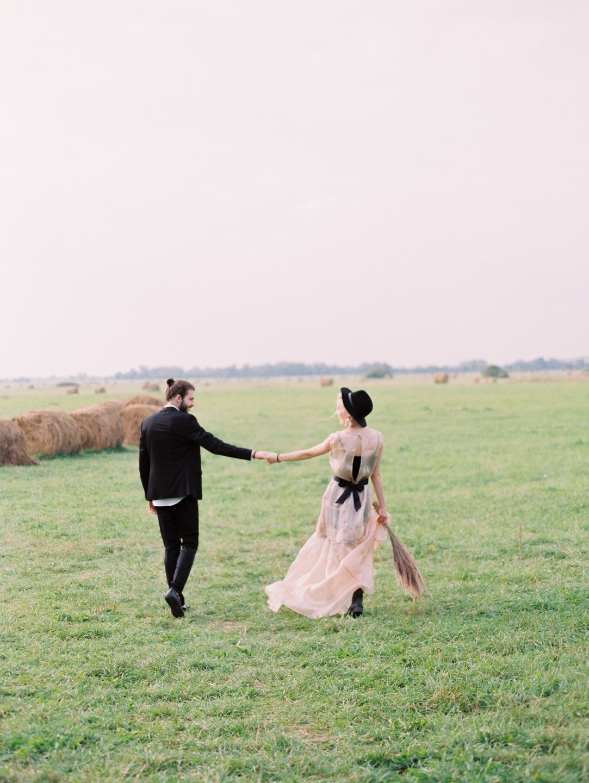 Honey river: стилизованная свадьба для двоих