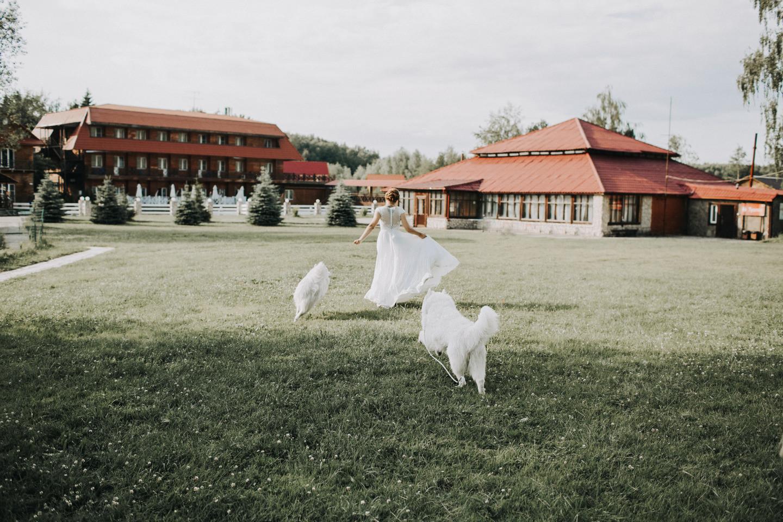 Как мы организовали свадьбу за городом с домашними питомцами