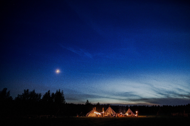Бохо-вечеринка под открытым небом