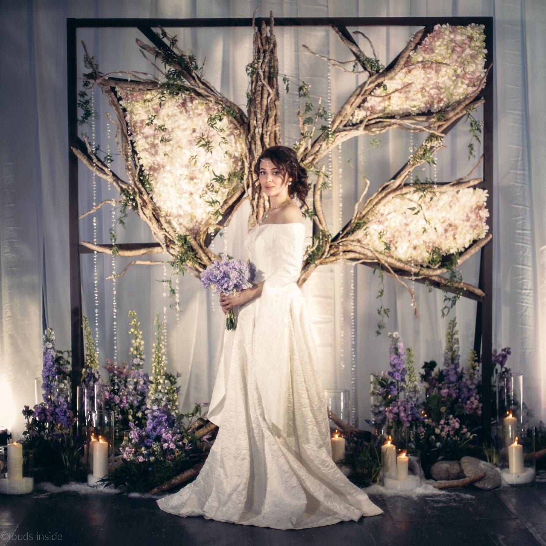 Spring melody: свадьба как в сказке