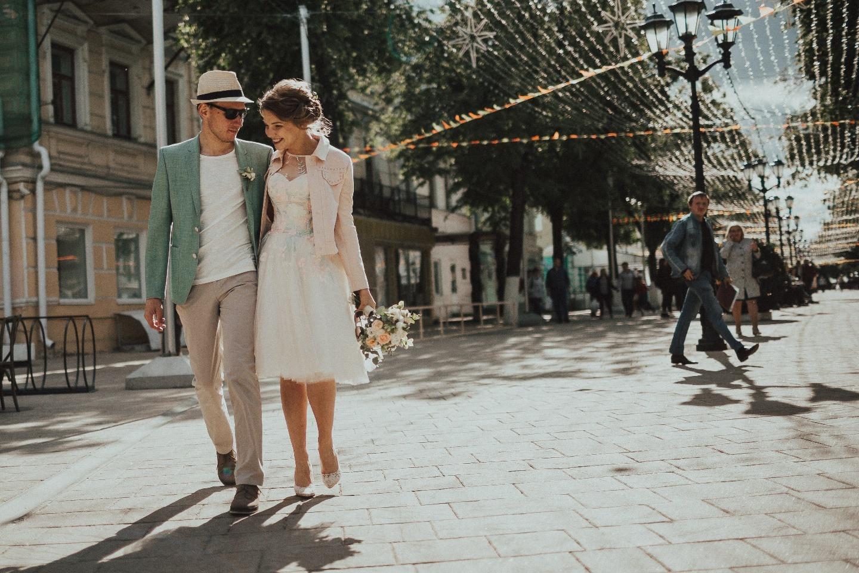 Будь собой: городская свадьба для двоих
