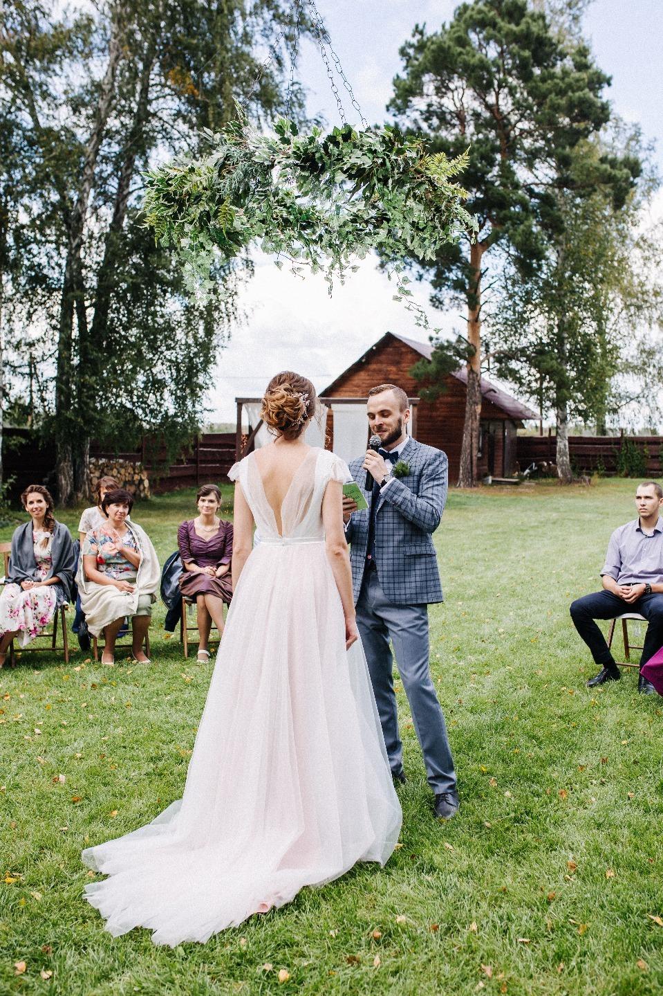 Natural style: загородная свадьба в эко-тематике