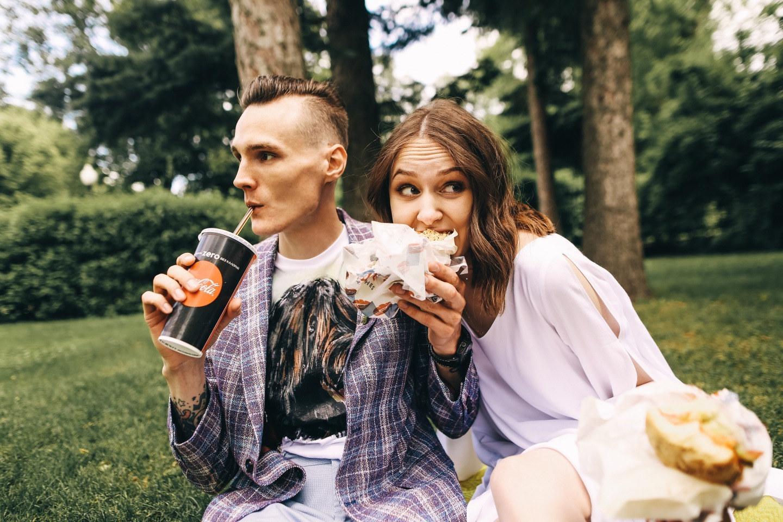 Яркие мгновения любви: love-story в Парке Горького