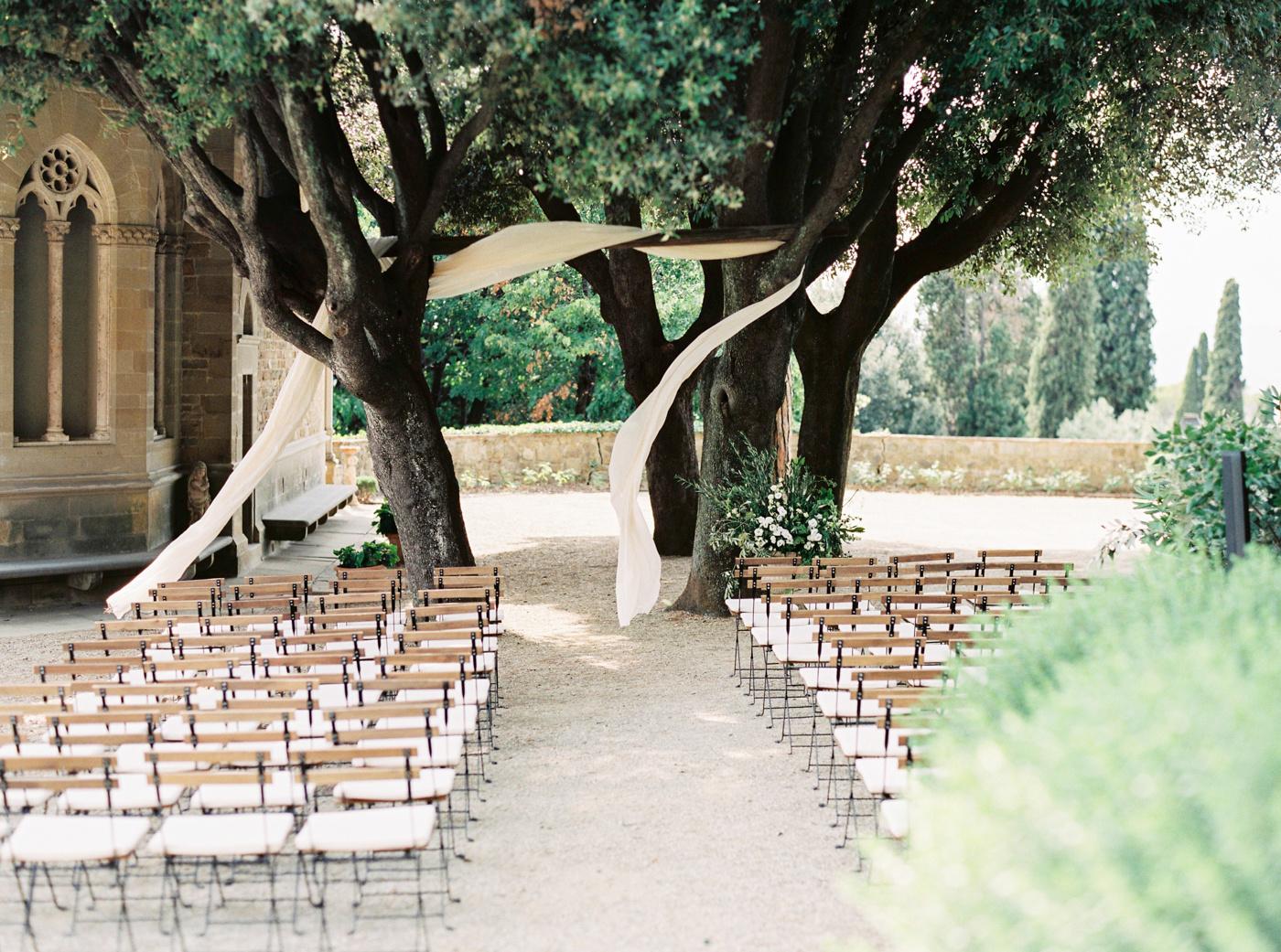 Две культуры – одна любовь: свадьба в Тоскане
