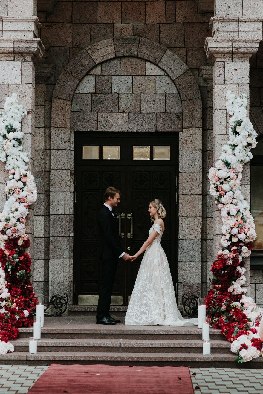 "The Great Marsal Story: роскошная свадьба в цвете ""марсала"""