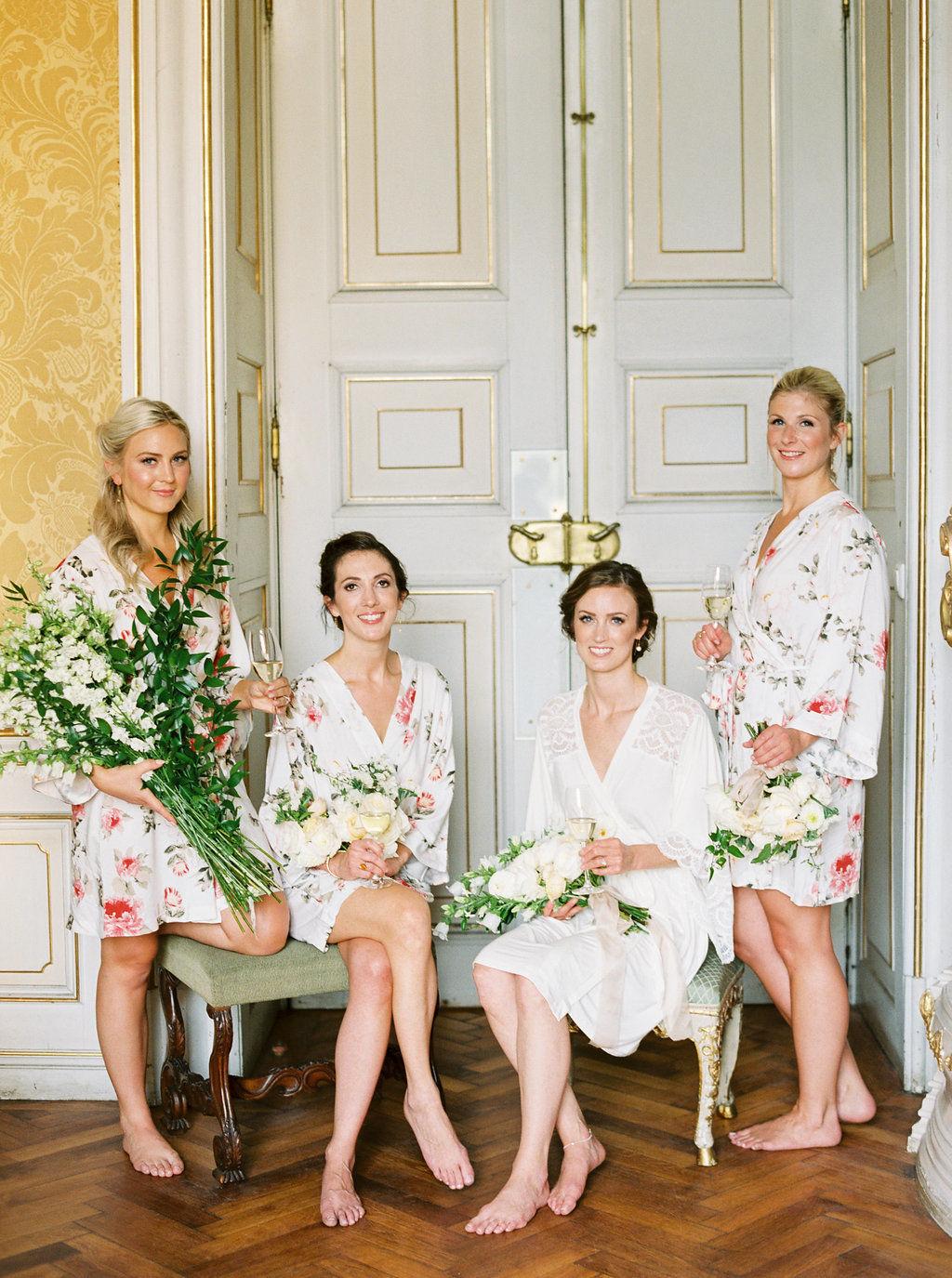 Элегантность и гармония с природой: свадьба в австрийском дворце