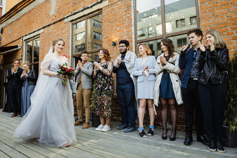 Свадьба в лофте: апероль, весна, любовь