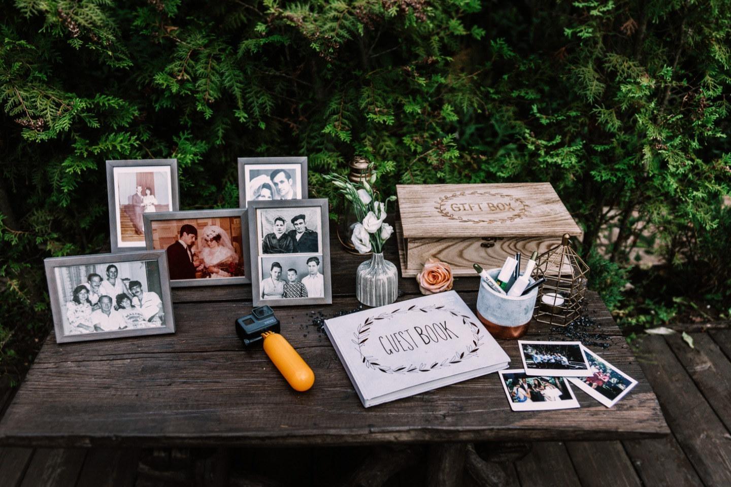 Таежный роман: неформальная свадьба на природе