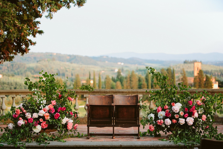 In bloom: свадьба на вилле в Италии