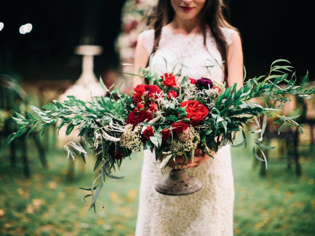 Цвет свадьбы: марсала
