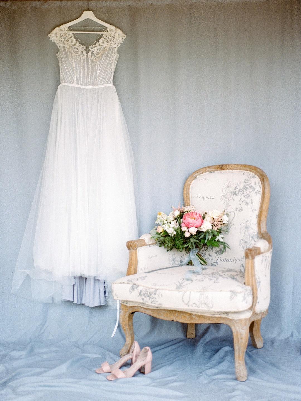 """Ты моё небо"": нежная свадьба в цвете неба"