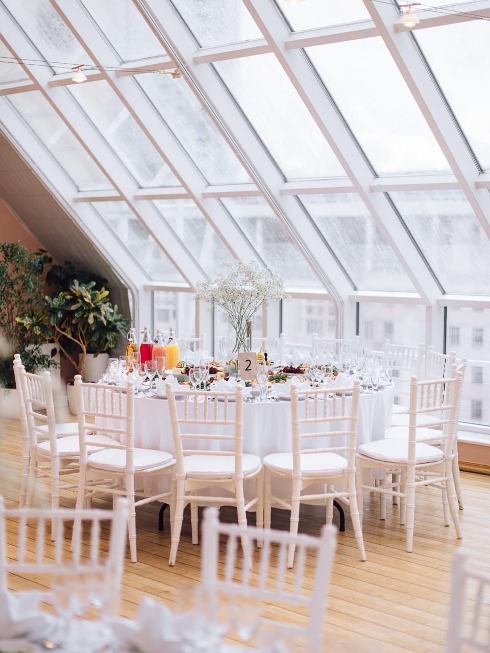 Настроение осени: свадьба в дождливую погоду