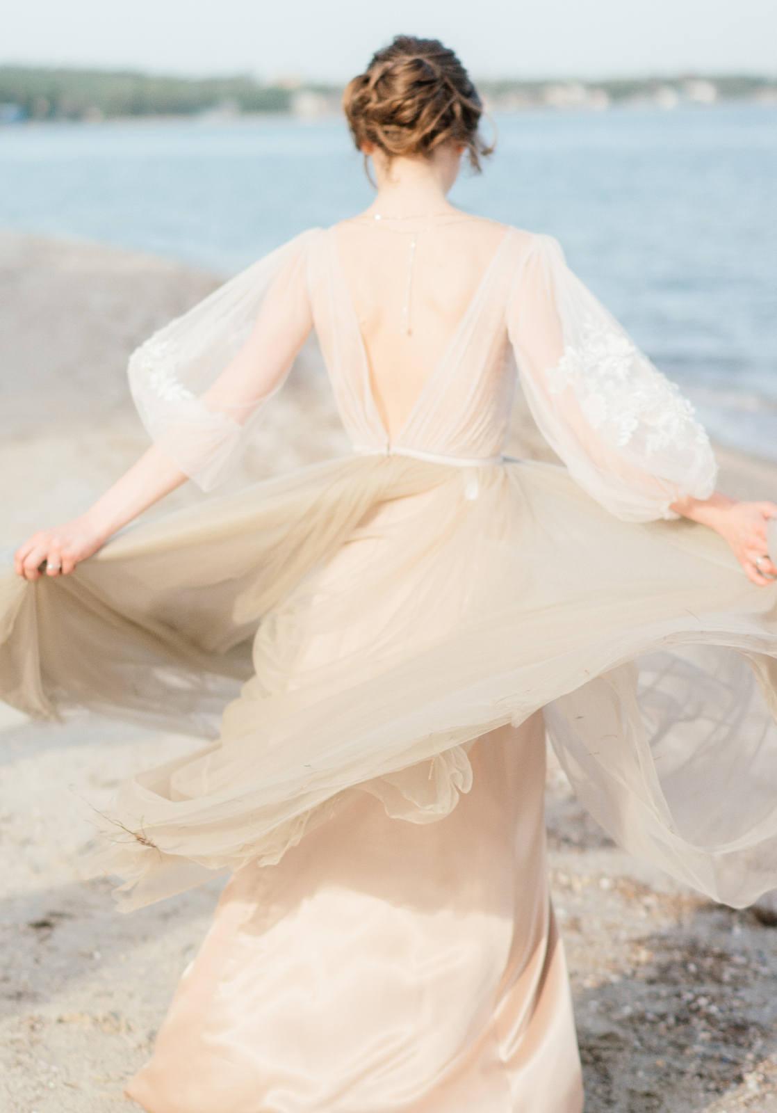 Нежная рустик-свадьба в лесу