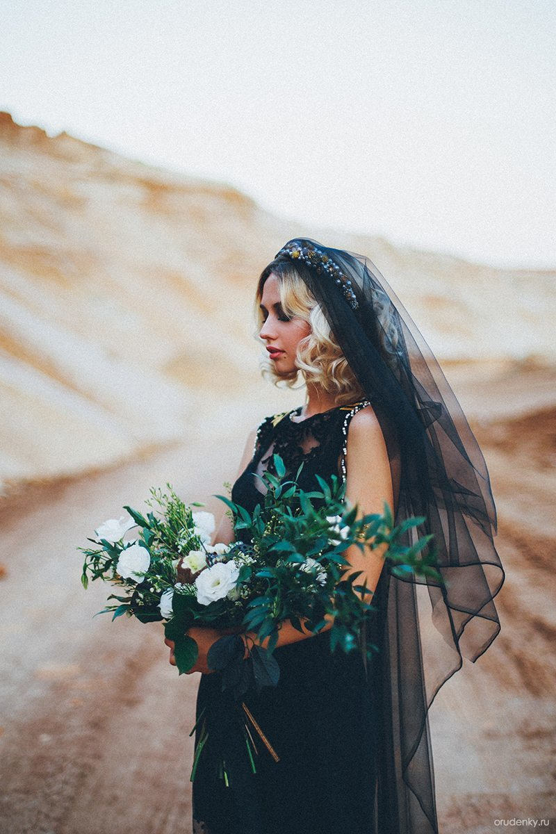 Цвет свадьбы: чёрный