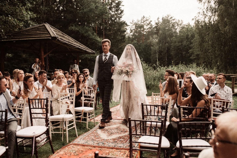 Путь солнца и луны: бохо-свадьба на природе
