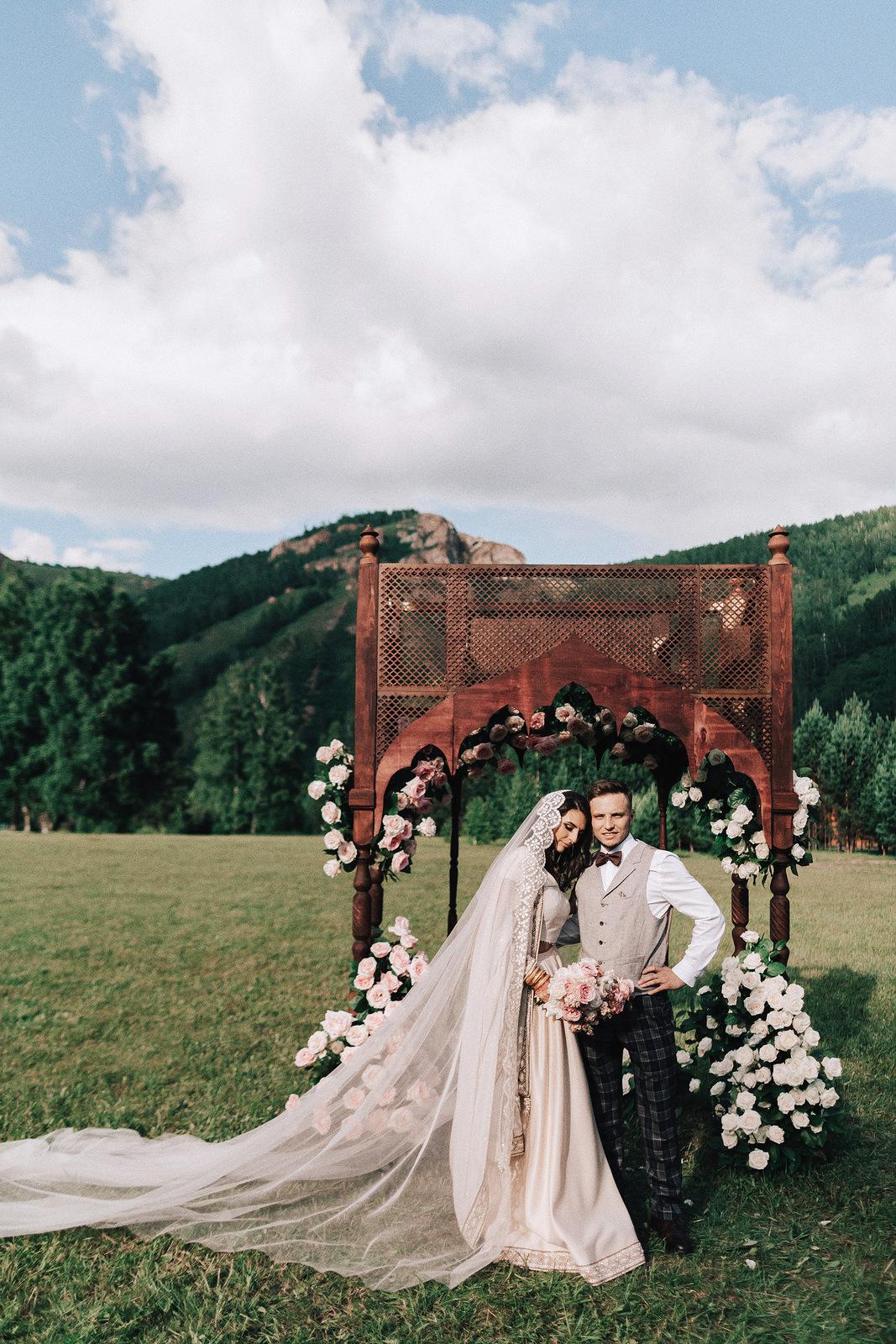 Индия в сердце: свадьба с восточным колоритом