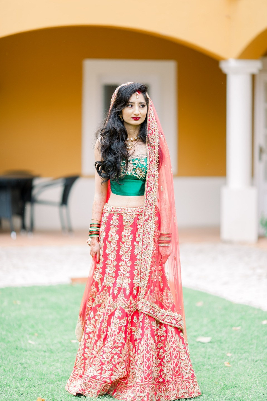 Традиционная индийская свадьба в Португалии