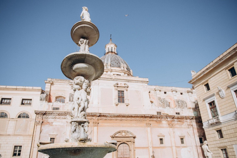Под солнцем Сицилии: свадьба в Палермо для двоих