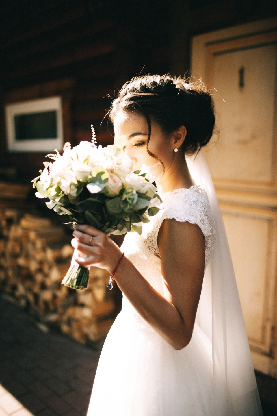 Классическая романтика: свадьба в розовом цвете