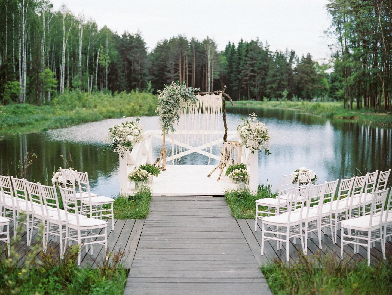 """Greenery: свадьба в стиле """"нежный эко"""""""