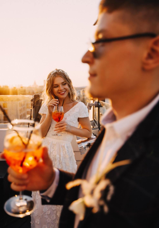 Когда подготовка в радость: молодежная свадьба в стиле урбан