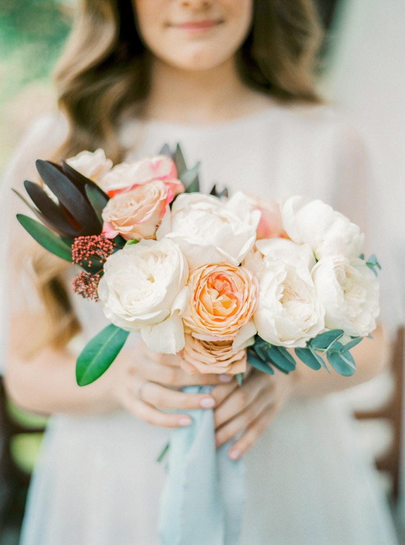 Очарование нежности: свадьба в садовой стилистике