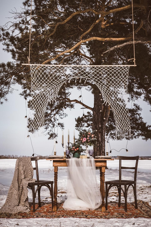 Зимний лес: стилизованная фотосессия