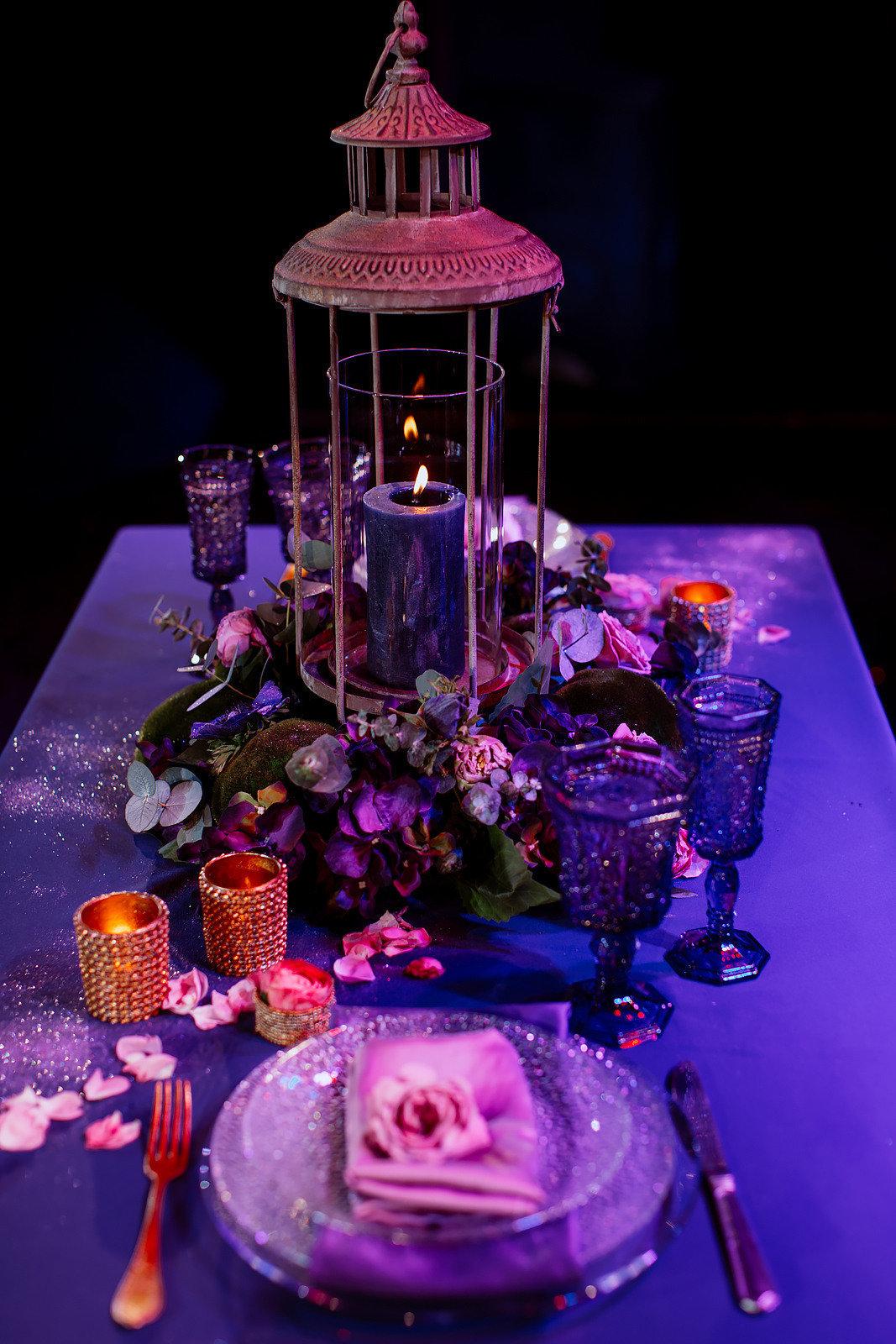 Цвет свадьбы: фиолетовый