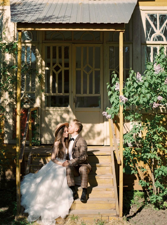 Винтажная свадьба для двоих в доме-музее Арбузовых