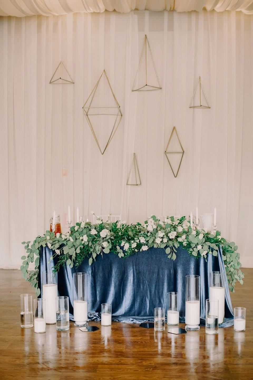 Элегантная геометрия: свадьба в минималистичном стиле