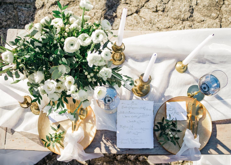 Вне времени: стилизованная свадьба в средневековом замке