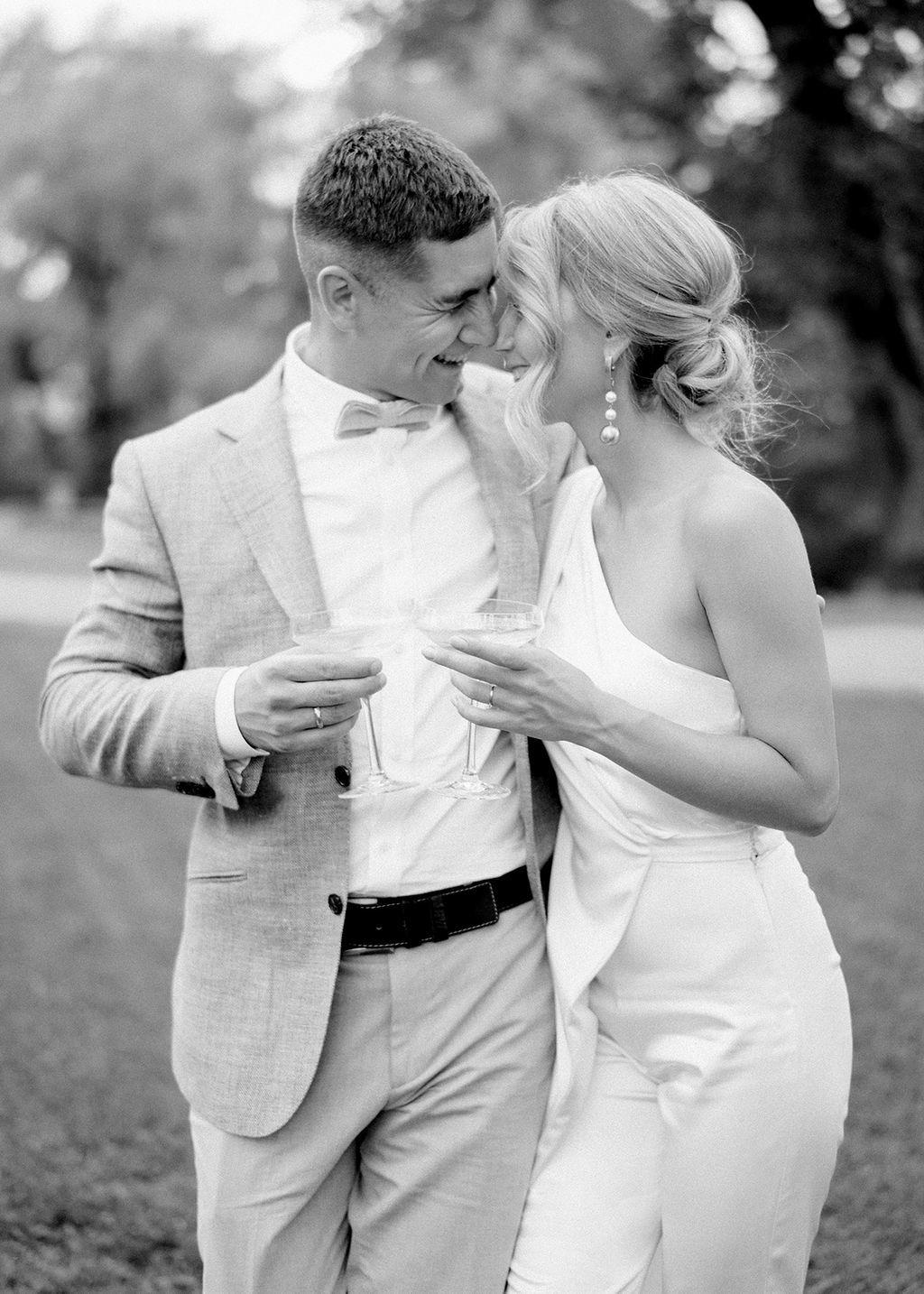 Современная элегантность: свадьба в замке БИП