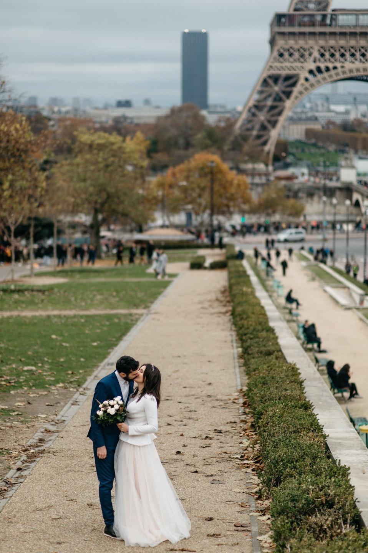Город любви: свадебный уикенд в Париже